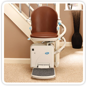 Curved Stair Lift Custom Designed for Your Home