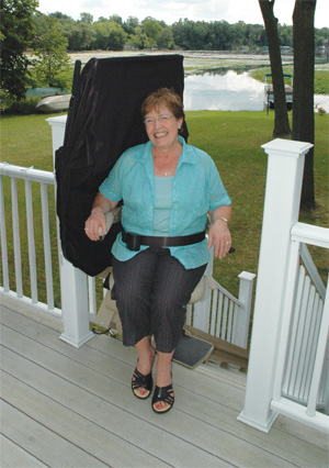 Outdoor Stair Lifts Solve Accessibility Problems at Metro Atlanta Homes homes, whether in Sandy Springs, Buford or Decatur