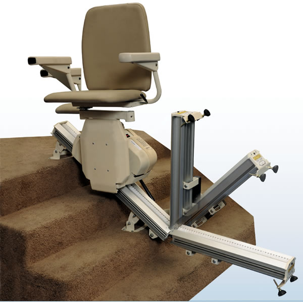 Stair Lift Designed for Atlanta Harmar Pinnacle