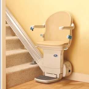 Handicare Simplicity Plus stair lift offers safety, convenience and mobility