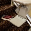 Stair lift auto stop when an object is encountered on the stair
