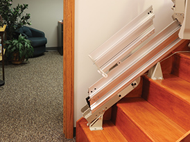 flip-up-stair-lift-railing-common-myths-about-stair-lift-atlanta-georgia